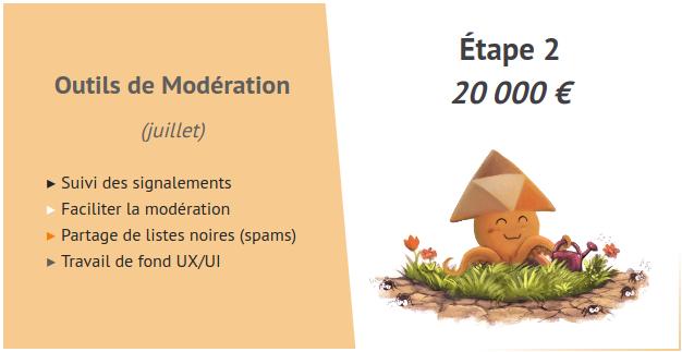 Etape 2 - moderation - Peertube