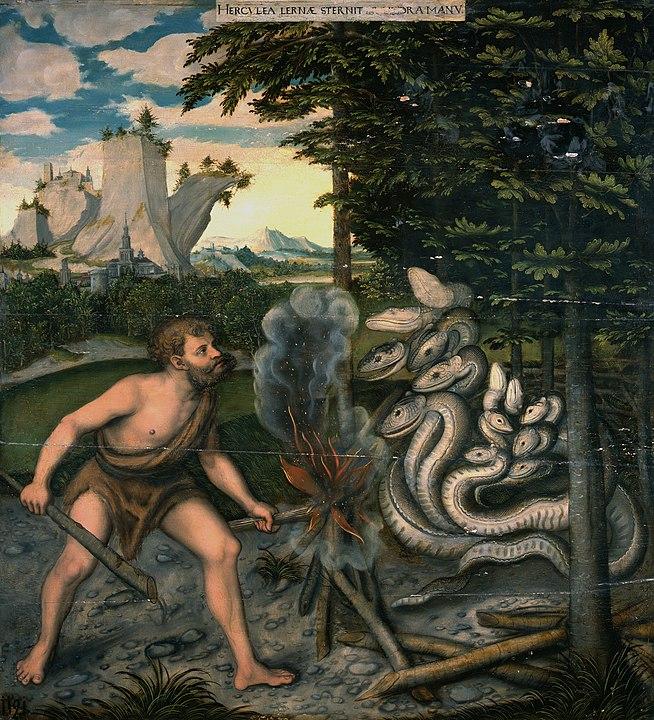 Hercule et l'hydre de Lernes