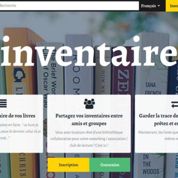 Partagez l'inventaire de votre bibliothèque avec vos proches sur inventaire.io